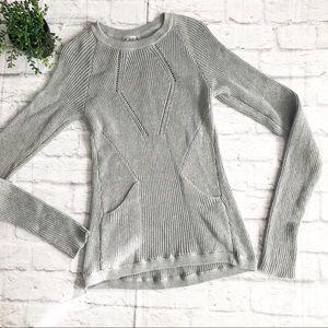 Lululemon The Sweater The Better Heathered Gray